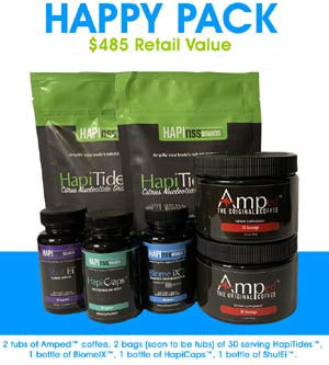 Hapinss Gut Health Happy Pack