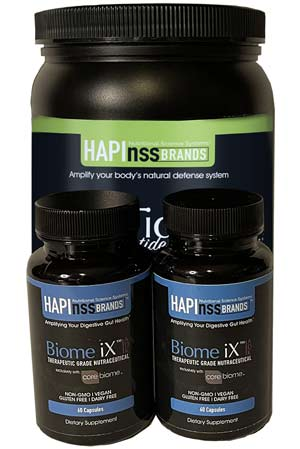 Gut Health Duo Pack Biome iX HapiTides