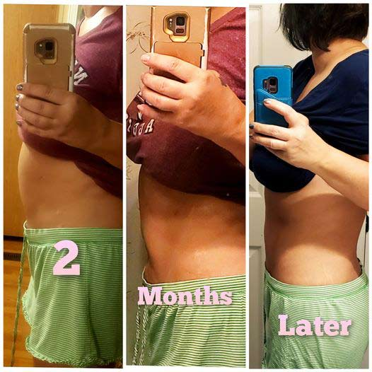 AMPLifei HapiNSS HapiTides  Weight Loss results