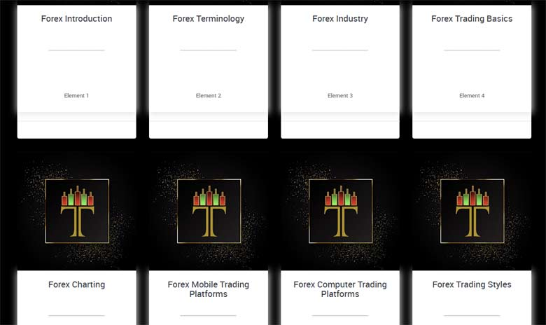 Tradera Forex Education Modules