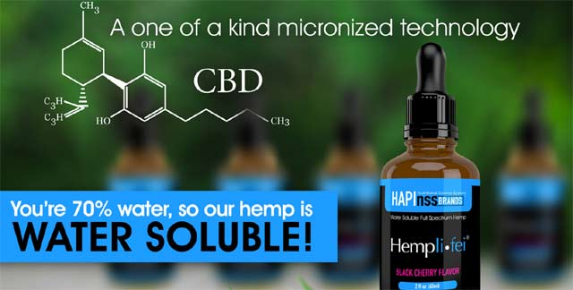 AmpLIFEi Hemplifei Water Soluble Full Spectrum CBD Oil